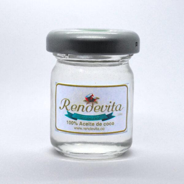 Aceite de Coco y menta Rendevita 30 ml