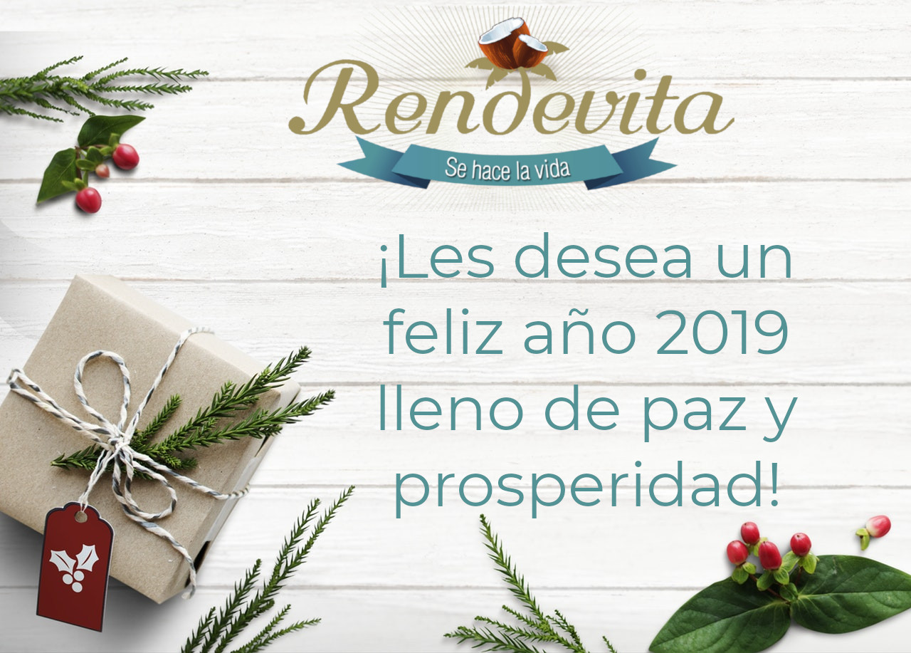 ¡Feliz año nuevo 2019!