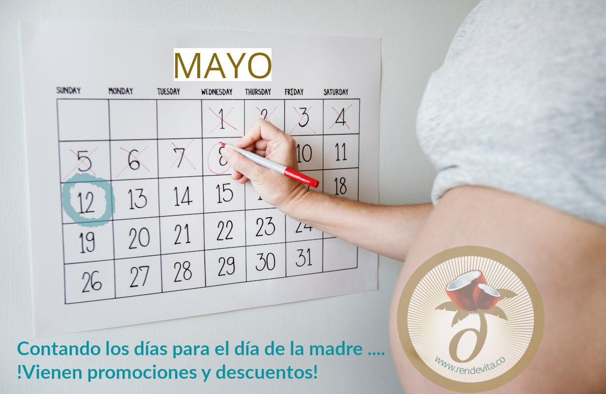 Contando los días para el día de la madre